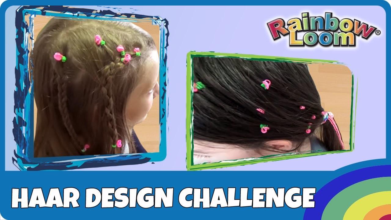 Rainbow Loom Haar-Design Challenge - deutsch
