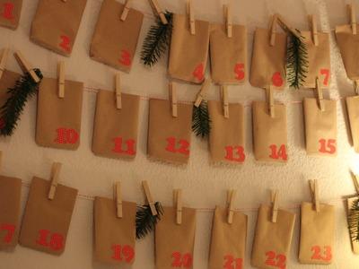 """DIY Adventskalender und """"Schokoladenplätzchen"""" #christmas"""
