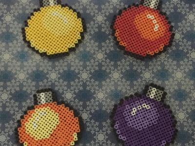 Perler Beads Weihnachtskugeln - Christmas Baubles - Ornament