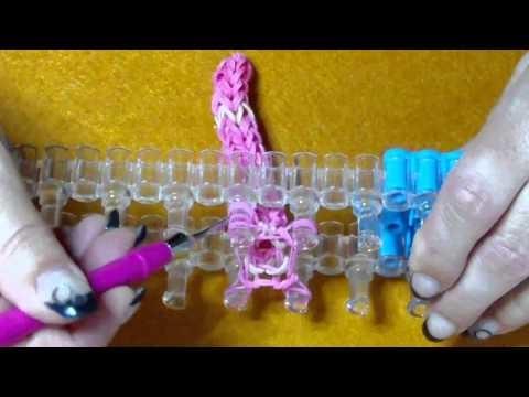 Rainbow Loom 3D XL Wurm von Lachtäubchen Loom