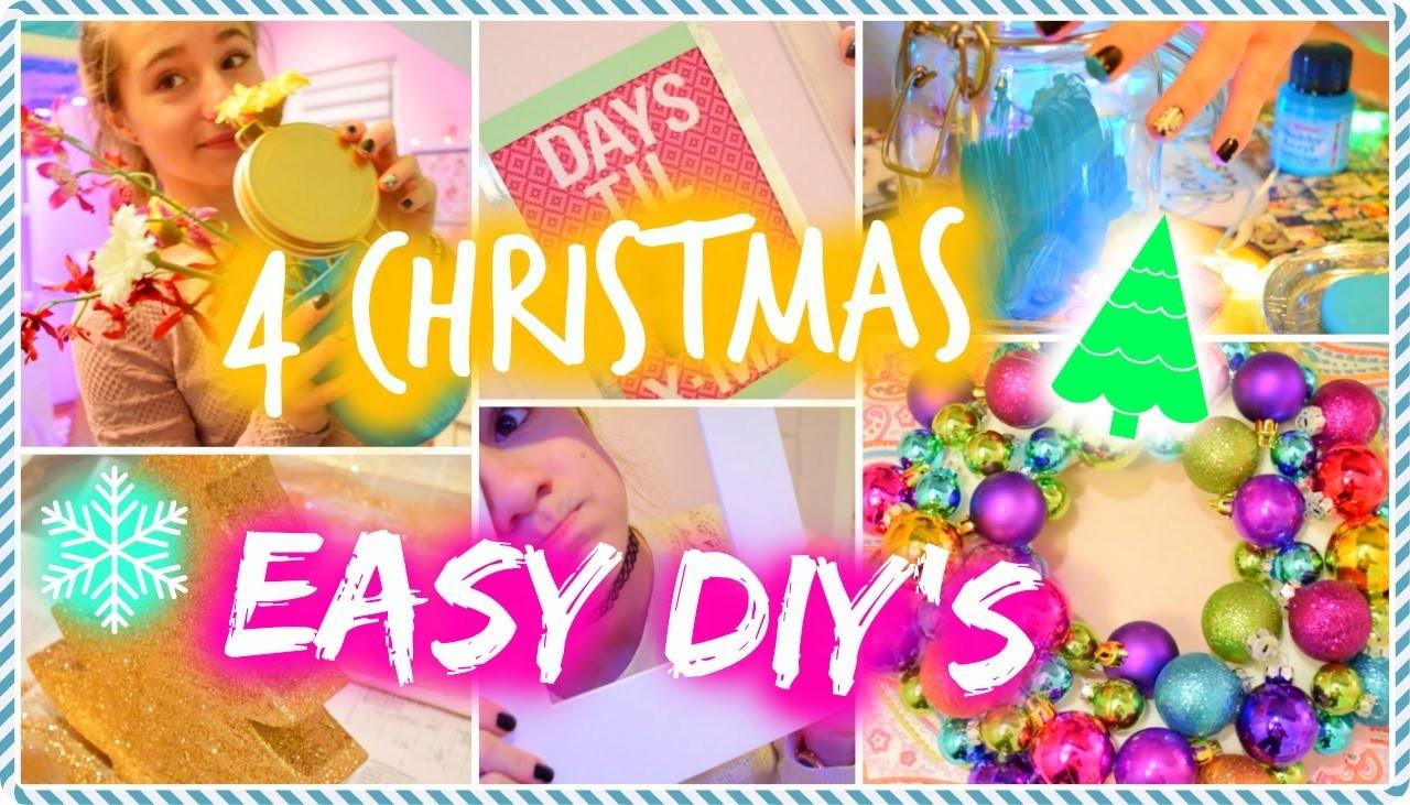 4 easy Christmas DIYs ⛄️