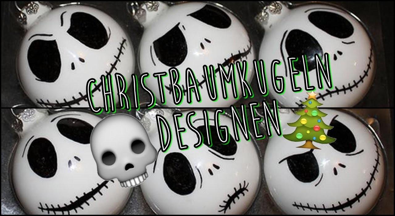 DIY Christbaumkugeln. Christmas balls - Weihnachtsdekoration für den Tannenbaum