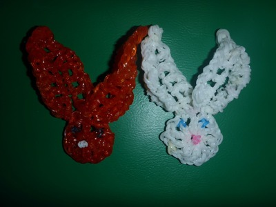 Loom Bands Rainbow Osterhase Hase Ostern Easter Bunny Anleitung