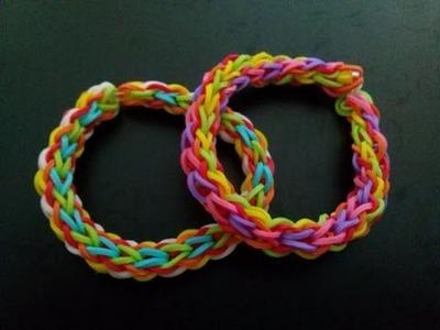 Regenbogen Armband,Crazy Loom,Rainbow Loom,Zauber Loom,Deutsch