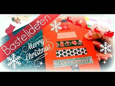 Weihnachtskarten selber basteln ♥ Karten basteln DIY ♥ Weihnachtsgeschenke