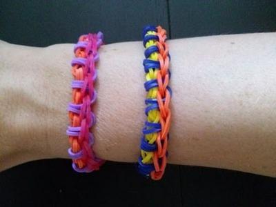 Raupen Armband,Crazy Loom,Rainbow Loom,Zauber Loom,Deutsch