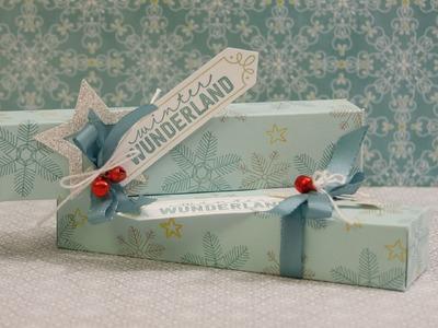 DIY - Verpackung für einen Küßchen Riegel - Stampin' Up!