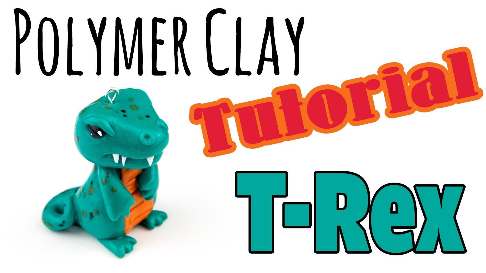 [Polymer Clay Tutorial] Dinosaurier T-Rex