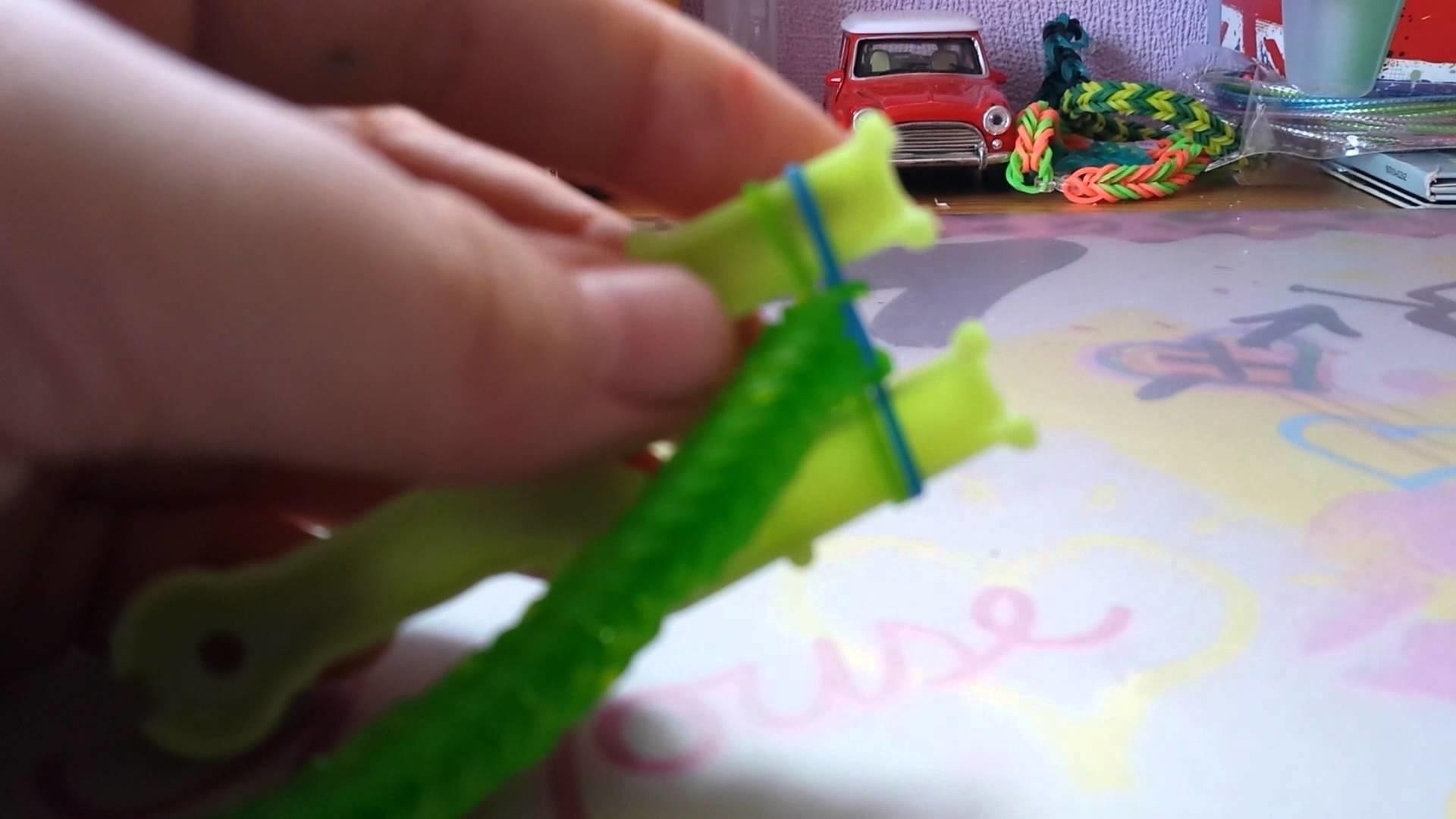 Rainbow Loom Fischgräten armband