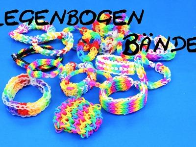 Rainbow Loom Regenbogen Armbänder Infovideo. Alle meine Regenbogen Loom Bands Fishtail Dragon Scale