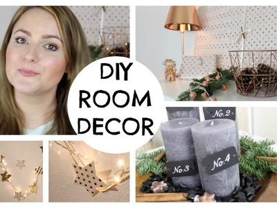 DIY CHRISTMAS ROOM DECOR
