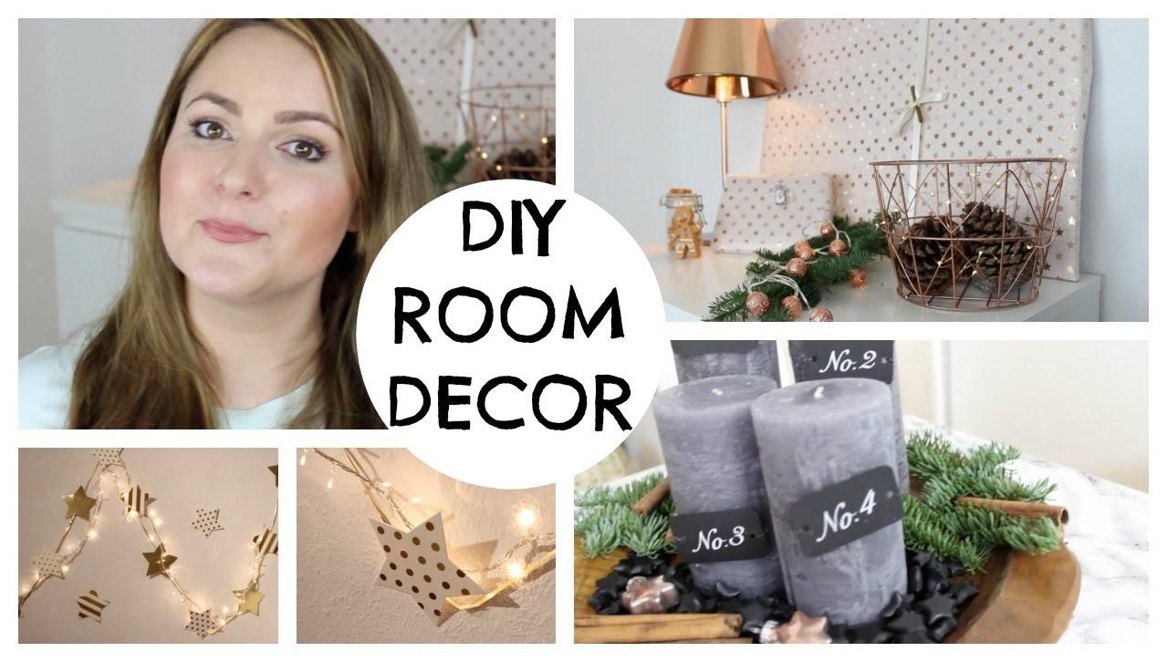 DIY CHRISTMAS ROOM DECOR