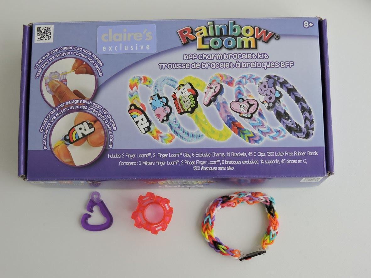 Fingerloom Armband,Crazy Loom,Rainbow Loom,Zauber Loom,Deutsch
