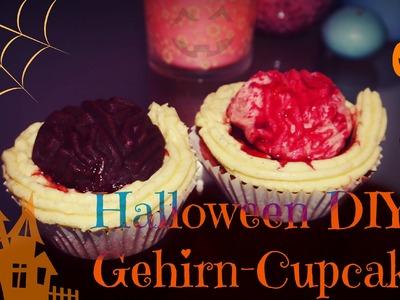 Halloween DIY: Gehirn-Cupcakes