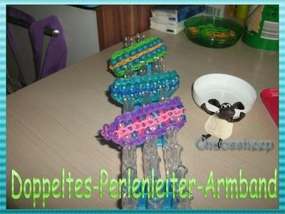 Rainbow Loom Doppeltes-Perlenleiter-Armband