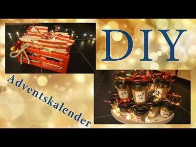 2Last Minute DIY Adventskalender - 2 Adventskalender selber basteln und befüllen - KfL