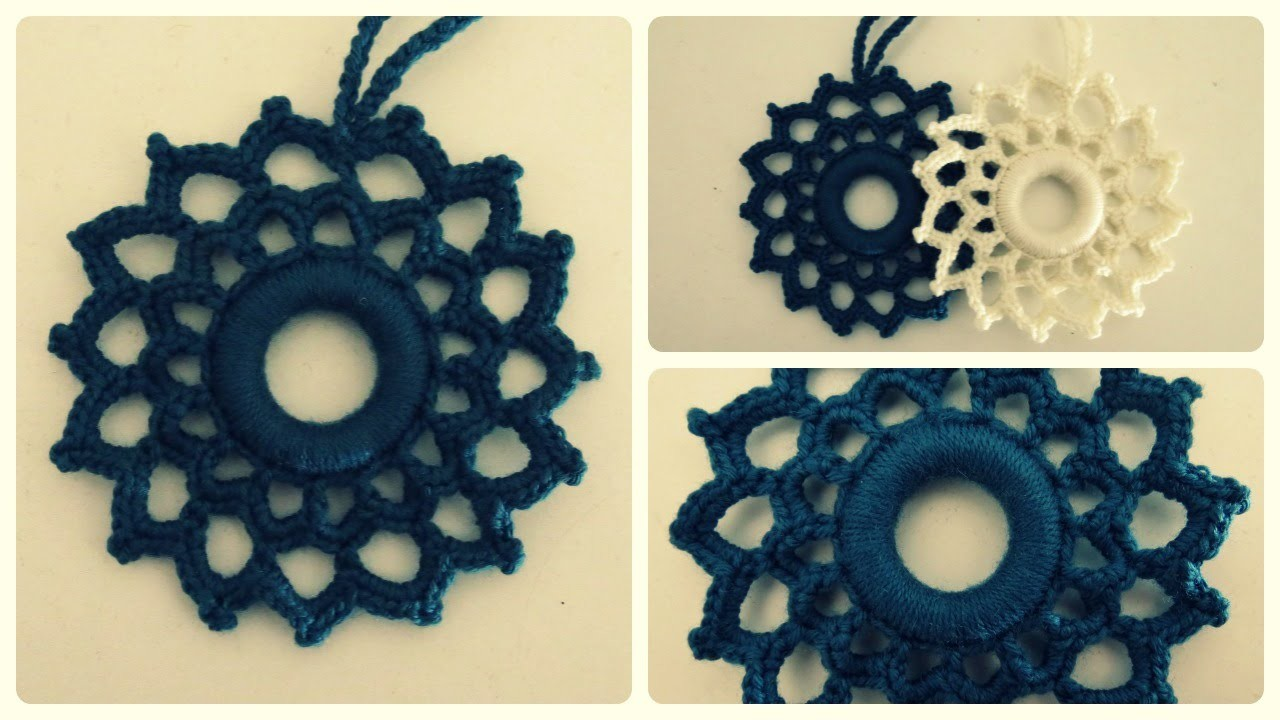 Häkelornament * DIY * Crochet Ornament [eng sub]