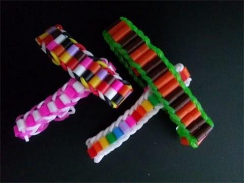 Armband aus Looms und Bügelperlen,Crazy Loom,Rainbow Loom,Zauber Loom,Deutsch