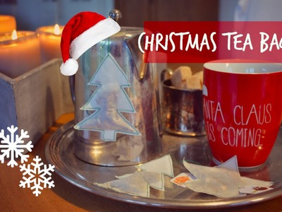 DIY Christmas Tea Bags | Charlotte K.