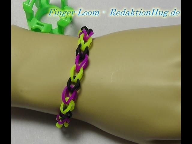 Loom Bands - Rainbow Loom - Finger-Loom - Band S - Veronika Hug