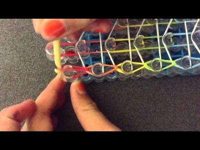 Rainbow - Loom Dreifach Armband Anleitung( Deustch)