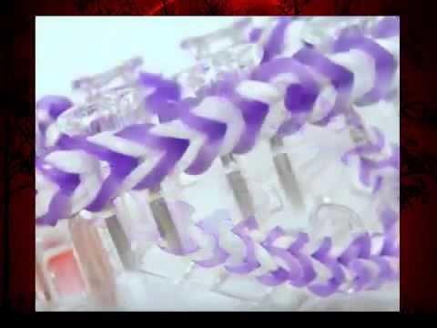 Rainbow Loom Monster Tail Armband. Fishtail Bracelet Var. 2. Loom Bands Anleitung deutsc