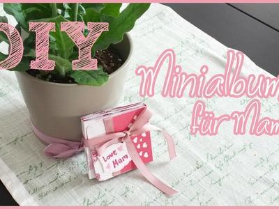 [DIY] Minialbum für MAMA | MUTTERTAG ♡
