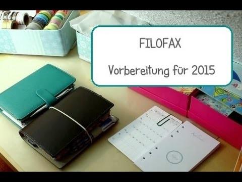 FILOFAX - VORBEREITUNG für 2015 | Sassi-lee