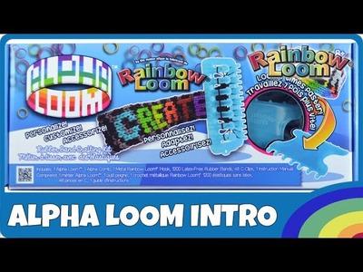 Rainbow Loom AlphaLoom Intro - deutsche Anleitung