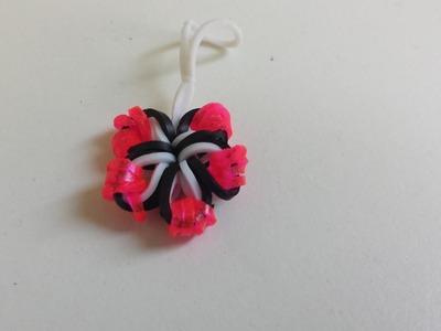 Rainbow Loom Blume (deutsch)