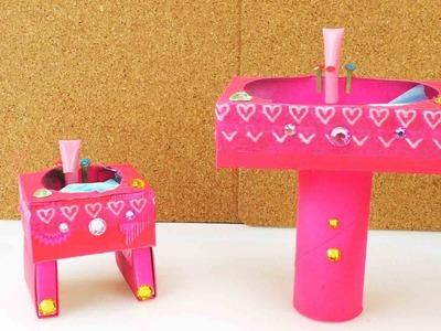 DIY Barbie - Waschbecken selber machen