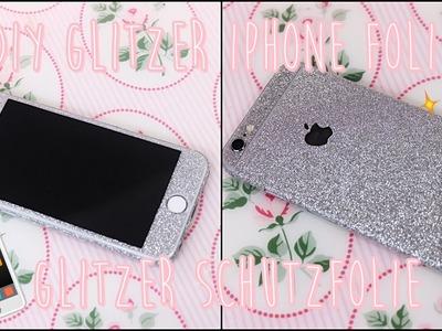 DIY iPhone Glitzer Schutzfolie | DIY Glitzer Handyhülle (Glitzer Folie iPhone by MRSTRAPS)