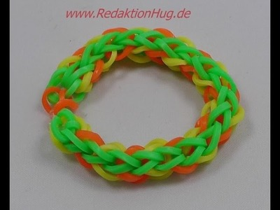 Loom Bands - ohne Rainbow Loom - Deutsch - B
