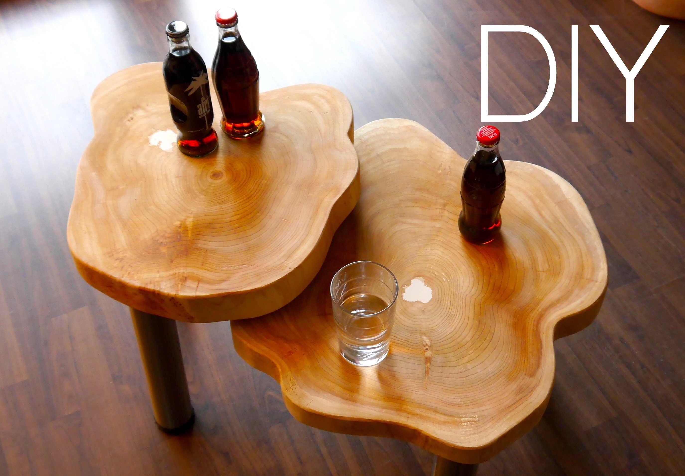 DIY  ★ Wood  Table Designer Tisch Anleitung