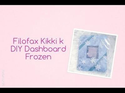 Filofax DIY Dashboard und Flyleaf Frozen | Tipps | deutsch | filolove_