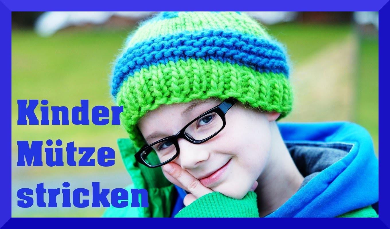 Mütze Stricken Für Anfänger Anleitung Kindermütze Einfach Häkeln