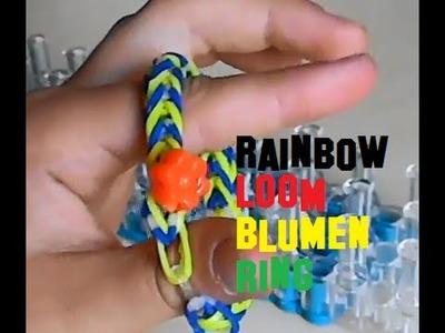 Rainbow Loom Blumenring Braclet DIY