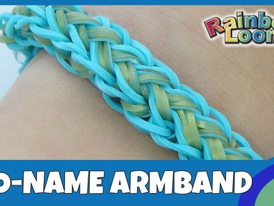 Rainbow Loom No-name Armband - deutsche Anleitung