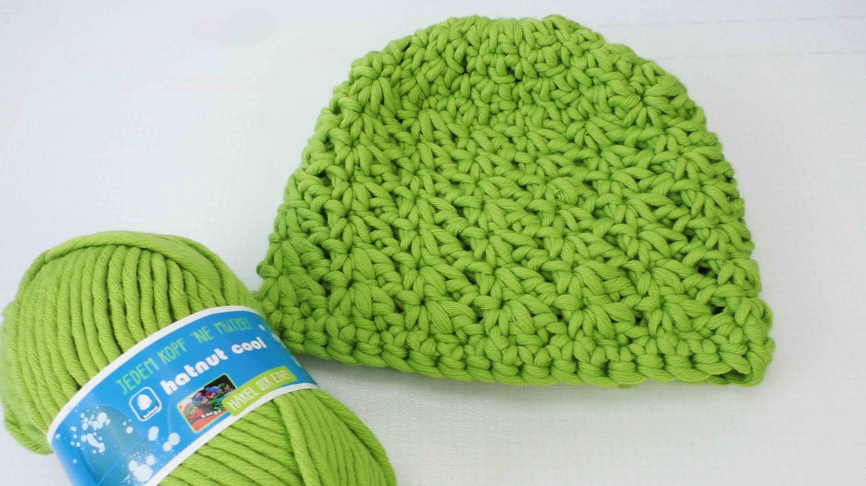 Wintermütze häkeln - mit Sternmuster - wie häkelt man eine Mütze für den Winter Anleitung