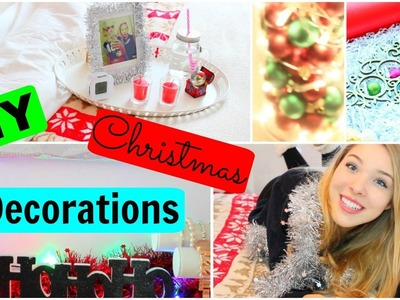 DIY CHRISTMAS DECORATIONS + IDEAS 2015