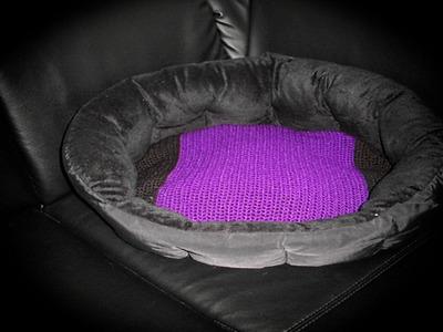 Häkeln | Anleitung Kissenbezug Oval |Hundekissenbezug Oval 40x50cm | Rechtshänder