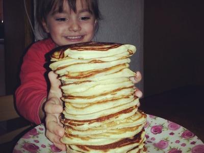 Die fluffigsten, lockersten und leckersten Pancakes. Pancakes Recipe
