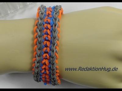 Loom Bands mit Rainbow Loom Anleitung Deutsch R - Veronika Hug