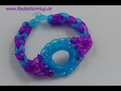 Loom Bands ohne Rainbow Loom Anleitung Deutsch A 19 - Veronika Hug
