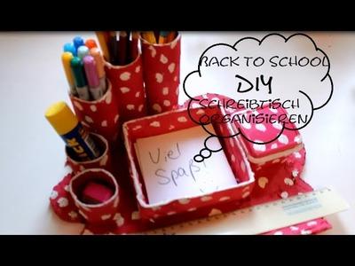 Back to School Reihe DIY Stifteaufbewahrung. Schreibtischorganizer | PLUSSIZEBEAUTY