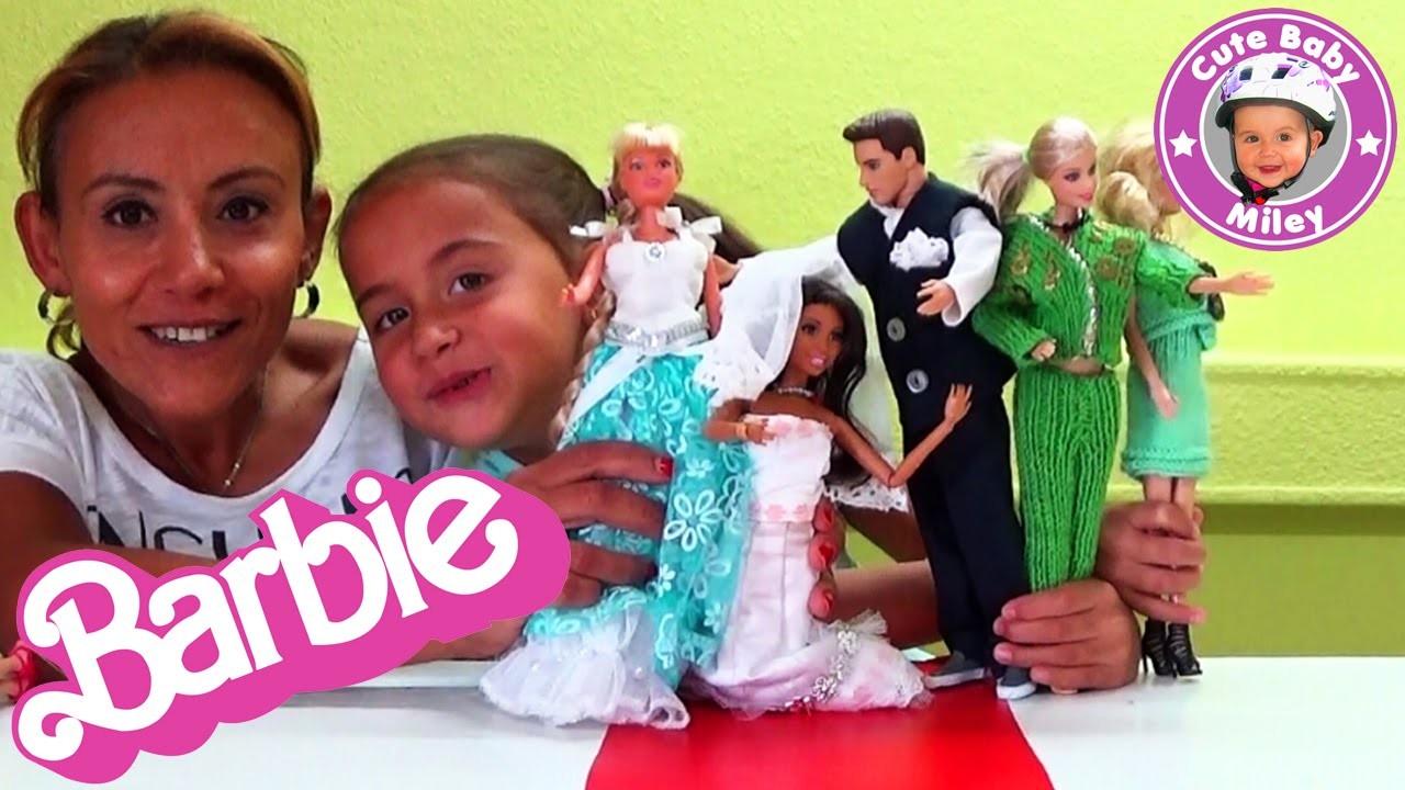 Barbie Modenschau Teil 2 Diy Selbst Gemachte Mode Häkeln Stricken