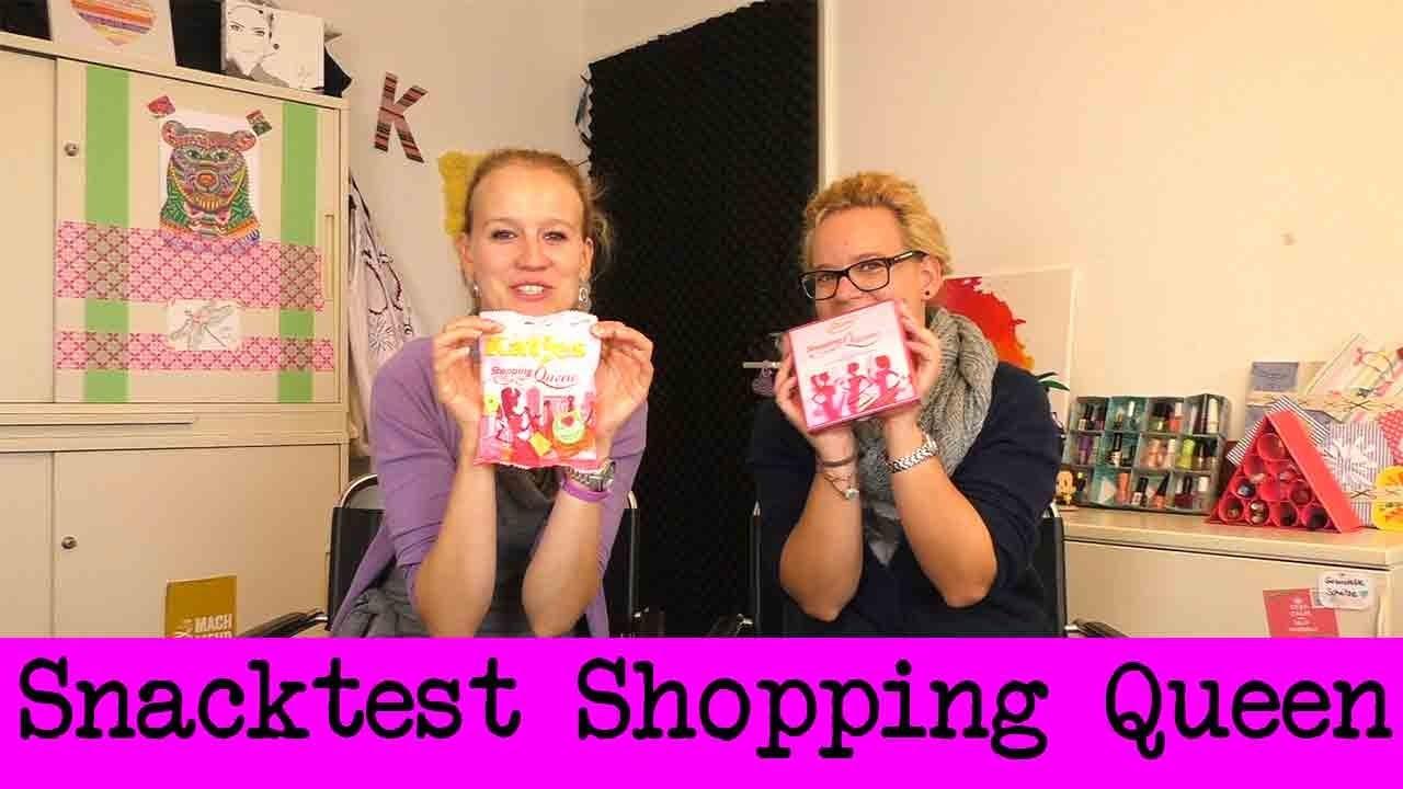 DIY Inspiration Snacktest: Shopping Queen Spezial | Fruchtgummi & Pralinen | Schuhe & Handtaschen