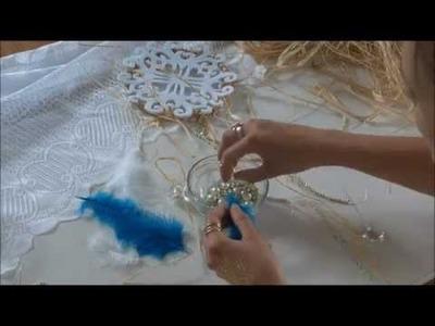 DIY - Romantischer Hippie Traumfänger Let's show selfmade Basteltipp Dreamcatcher