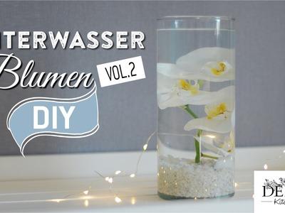 DIY: Tischdeko mit Unterwasserblumen Variante 2 | Deko Kitchen