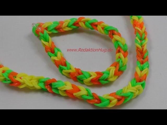 Loom Bands - ohne Rainbow Loom - Deutsch - A